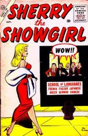 Sherry the Showgirl #2 (Sept. 1956). Cover art by DeCarlo.