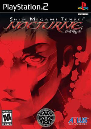 Shin Megami Tensei: Nocturne - North American cover art