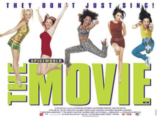 Spice World (film) - Theatrical release poster