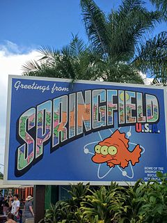 Springfield (Universal Parks & Resorts) Simpson-based themed areas of Universal Parks & Resorts