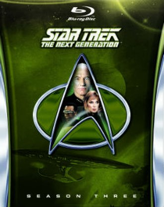 Star Trek: The Next Generation (season 3) - Region A/1 Blu-ray cover art