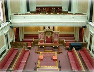 Senate of Northern Ireland - The Senate chamber