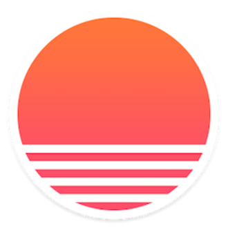 Sunrise Calendar - Image: Sunrise Calendar Logo