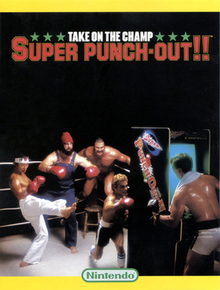 Arcade flyer of Super Punch-Out!!.