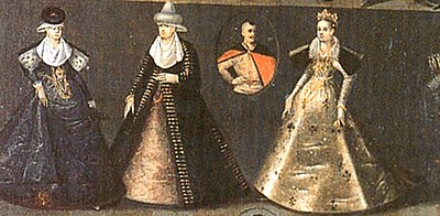 Polish noblewomen, early 17th century.