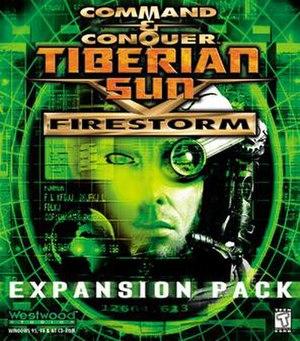 Command & Conquer: Tiberian Sun - Tiberian Sun – Firestorm cover art.