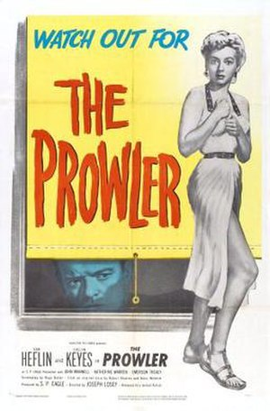 The Prowler (1951 film) - Theatrical release poster