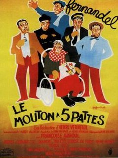 <i>The Sheep Has Five Legs</i> 1954 film by Henri Verneuil