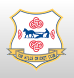 The Hills Cricket Club - Image: The Hills Cricket Club badge