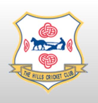 The Hills Cricket Club - Image: The Hills Cricket Club badge