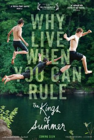 The Kings of Summer - Theatrical release poster