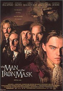 the man in the iron mask 1998 film