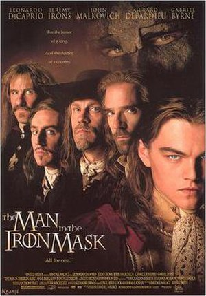 The Man in the Iron Mask (1998 film) - Image: The Man in the Iron Mask