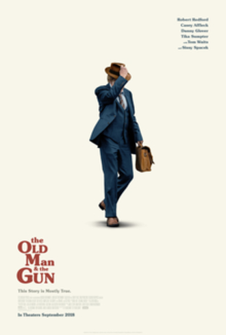 The Old Man & the Gun - Theatrical release poster
