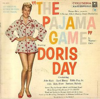 The Pajama Game (album) - Image: The Pajama Game (album) cover