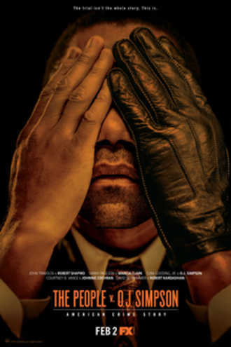 The People v. O. J. Simpson: American Crime Story - Promotional poster