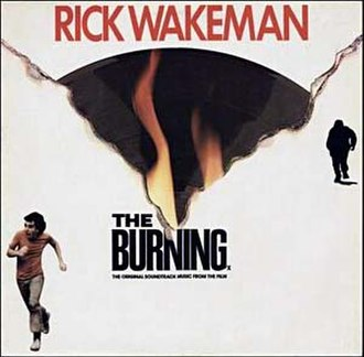 The Burning (film) - Cover of the soundtrack album