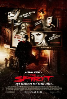 <i>The Spirit</i> (film) 2008 American film directed by Frank Miller