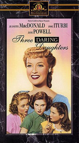 Three Daring Daughters - VHS cover