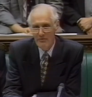 Tony Newton, Baron Newton of Braintree - Newton at the Despatch Box in parliament in 1995, when Leader of the House of Commons
