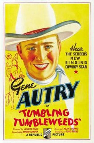 Tumbling Tumbleweeds (1935 film) - Image: Tumbling Tumbleweeds Poster