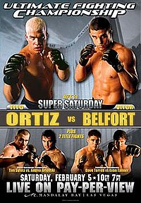 A poster or logo for UFC 51: Super Saturday.