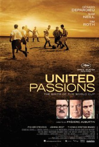 United Passions - Theatrical release poster