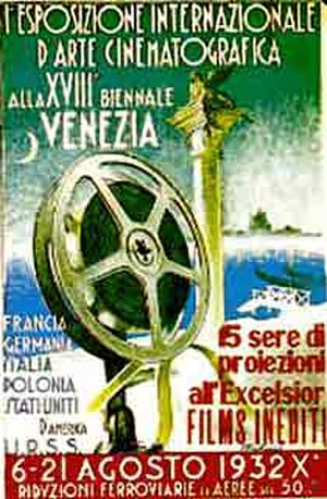 1st Venice International Film Festival - Festival poster
