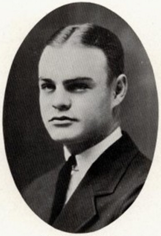 Victor Payne - Payne pictured in Prickly Pear 1923, Abilene Christian yearbook
