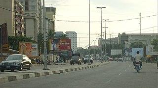 Victoria Island, Lagos island in Nigeria