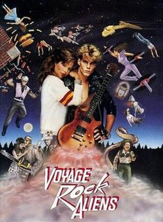 <i>Voyage of the Rock Aliens</i> 1984 film by James Fargo, Bob Giraldi