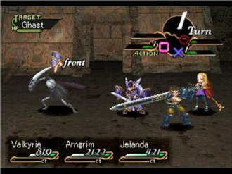 Valkyrie Profile - The battle system