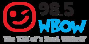 WWVR (FM) - Image: WBOW 98.5WBOW logo