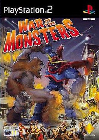 War of the Monsters - Cover art