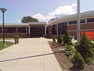 White Plains High School - Image: WPHS June 2010