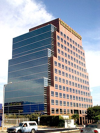 West Covina, California - The 14 story 100 N Barranca Building, tallest in the city.