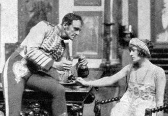 Harry Welchman - Welchman with Phyllis Dare in The Lady of the Rose (1922)