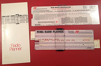 Westinghouse Broadcasting - Image: Westinghouse Numa slide rules