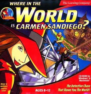 <i>Where in the World Is Carmen Sandiego?</i> (1996 video game) 1996 video game