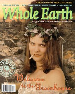 Whole Earth Review - Image: Whole Earth (magazine cover)