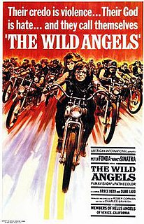 <i>The Wild Angels</i> 1966 film by Roger Corman