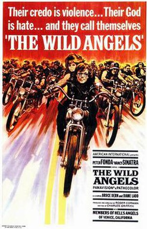 "Outlaw biker film - The ""outlaw biker film"" genre began with American International Pictures' 1966 surprise hit, The Wild Angels, the first of many such films the company produced"