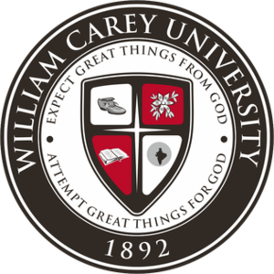 William Carey University - Image: William Carey University Seal