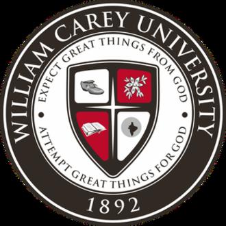 William Carey University - Image: William Carey University Seal