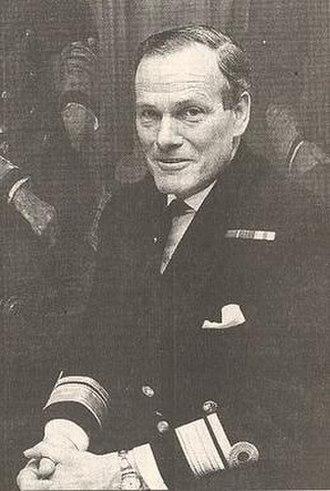 William Staveley (Royal Navy officer) - Rear Admiral William Staveley c. late 1970s