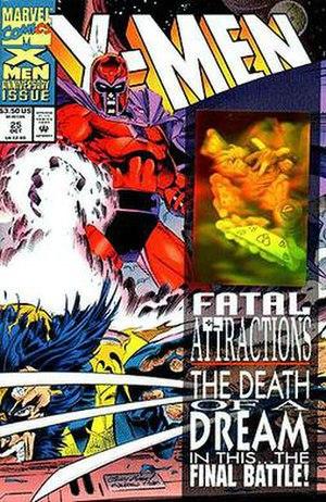 Fatal Attractions (comics) - Image: X men VOL2 25