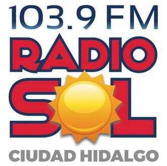 XHESOL-FM - Image: XHESOL 103.9Radio Sol logo