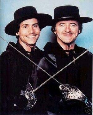 Zorro and Son - Paul Regina (left) and Henry Darrow