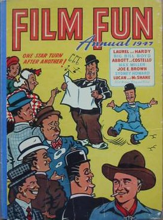 Film Fun - Film Fun annual 1947