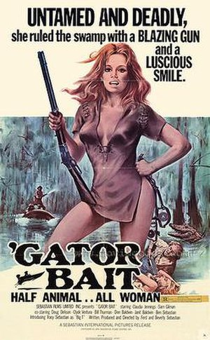 'Gator Bait - Theatrical release poster